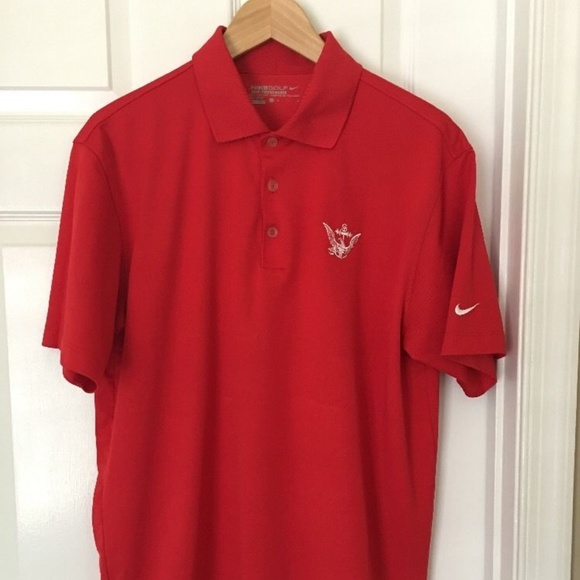 764165b88 Nike Shirts | Golf Tour Performance Drifit Red Polo M | Poshmark